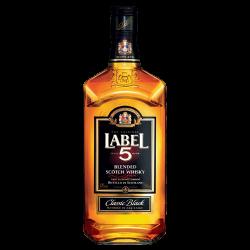 Whisky Label 5 0,500 Lt.