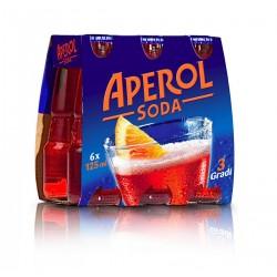 Aperol Soda 6X125cl.