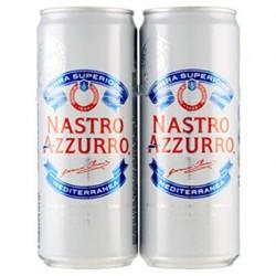 Birra Nasto Azzurro 2X 33cl.