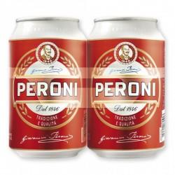 Birra Peroni 2X 33cl.