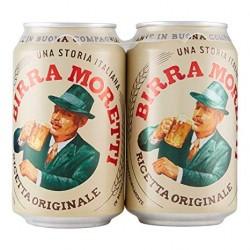 Birra Moretti 2X 33cl.