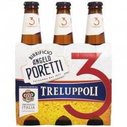 Birra Poretti 3 Bot. 3X 33cl.