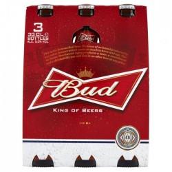 Birra Bud Bot. 3X 33cl.