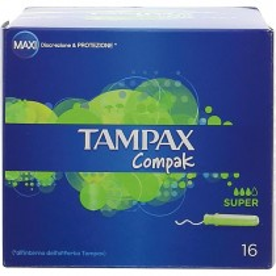 Tampax Compak Super X16