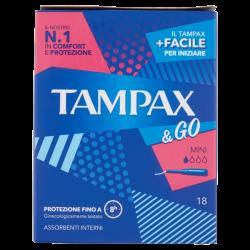 Tampax & Go Mini X18