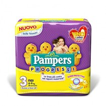 Pampers 3 Progressi X28 4-9Kg