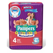 Pampers 4 Progressi X19 8-15Kg