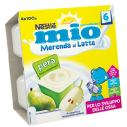 Merendina Pera Mio X4 0,100Kg