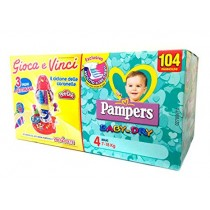 Pampers 4 Baby-Dry X104