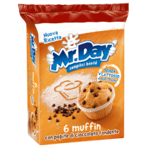Muffin Mr Day 252gr.
