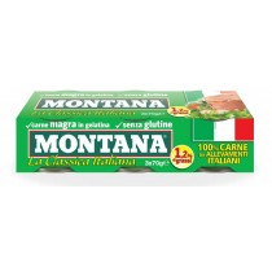 Carne Montana 70X3 700gr.