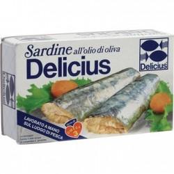 Sardine Delucius 120gr.